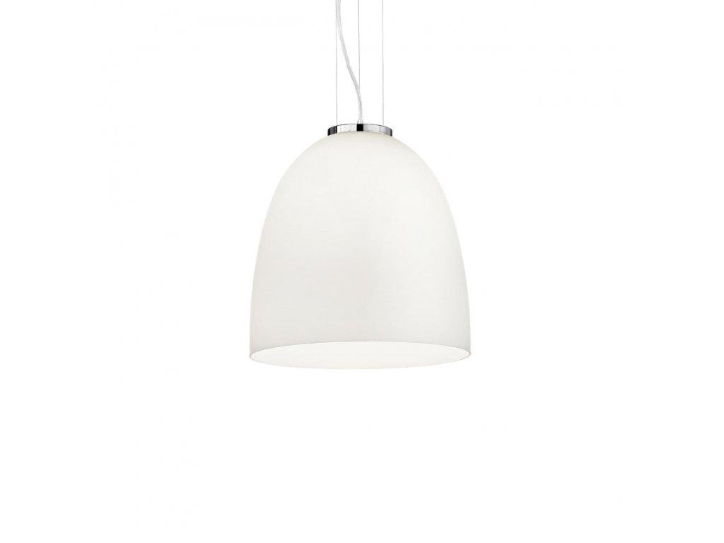 IDEAL LUX 077697 závěsné svítidlo Eva Small Bianco 1x60W E27