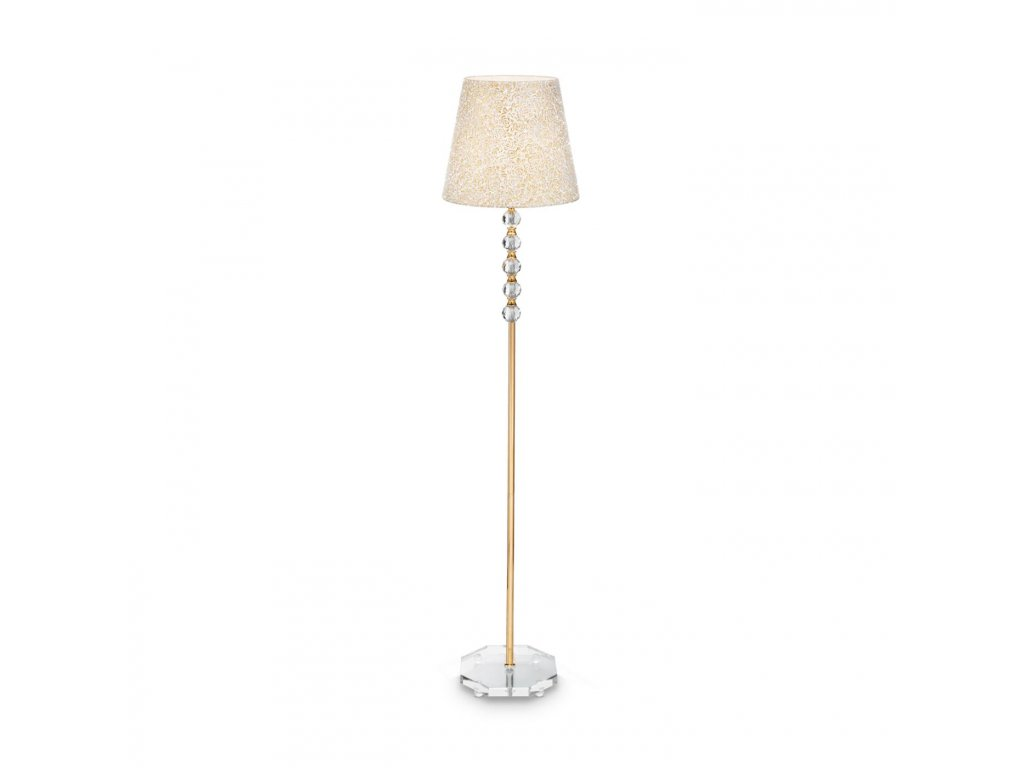IDEAL LUX 077765 stojací lampa Queen PT1 1x60W E27