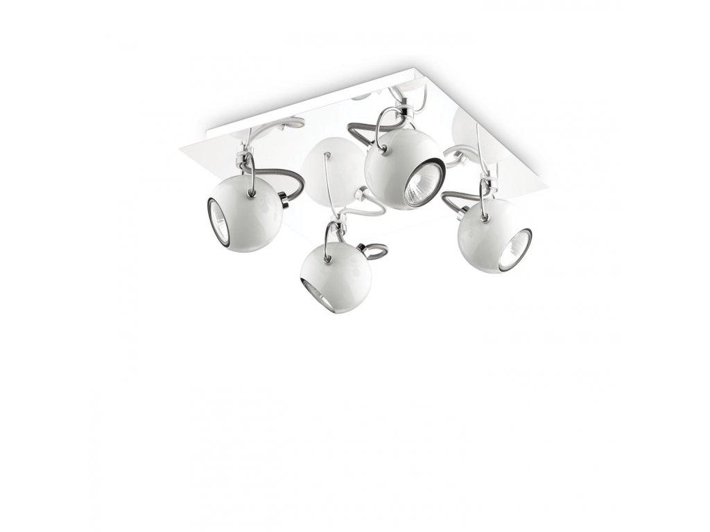 IDEAL LUX 077918 svítidlo Lunare PL4 Bianco 4x28W GU10