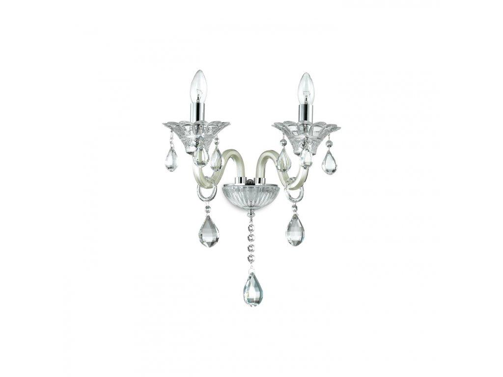 IDEAL LUX 081533 nástěnné svítidlo Colossal AP2 Avorio 2x40W E14