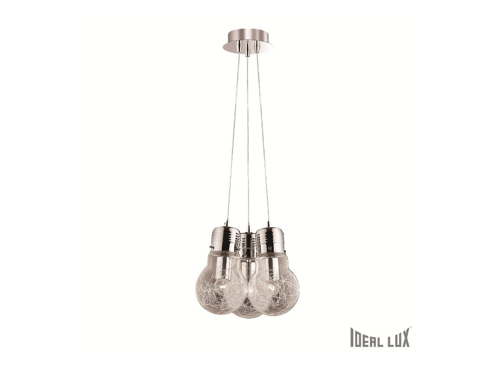 IDEAL LUX 081762 závěsné svítidlo Luce Max SP3 3x60W E27