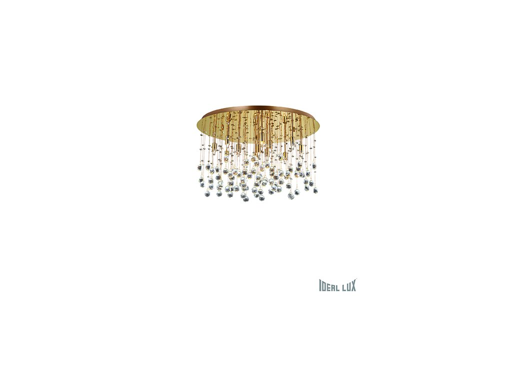IDEAL LUX 082783 svítidlo Moonlight PL12 Oro 12x40W G9