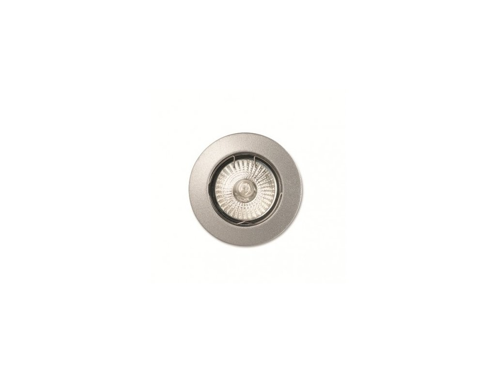 IDEAL LUX 083100 vestavné svítidlo Jazz FI1 Alluminio 1x50W GU10