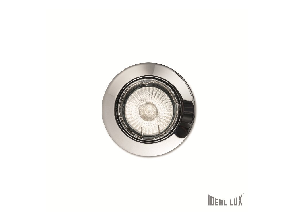IDEAL LUX 083131 vestavné svítidlo Swing FI1 Cromo 1x50W GU10
