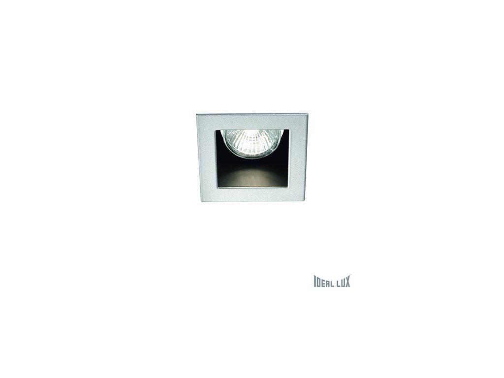 IDEAL LUX 083223 vestavné svítidlo Funky FI1 Alluminio 1x50W GU10