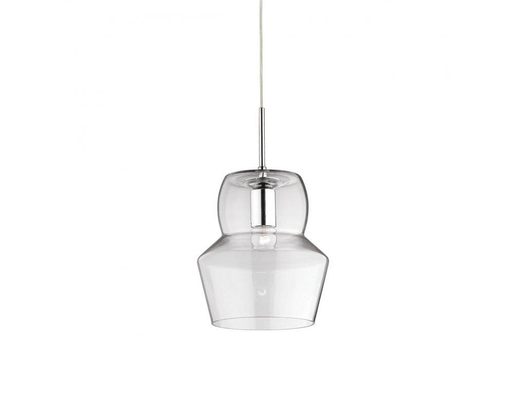 IDEAL LUX 088921 závěsné svítidlo Zeno SP1 Big Transparente 1x60W E27
