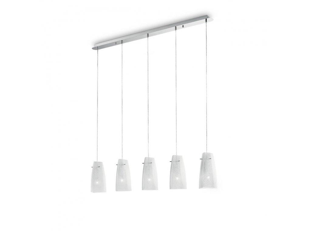 IDEAL LUX 090764 závěsné svítidlo Sugar SP5 5x60W E27