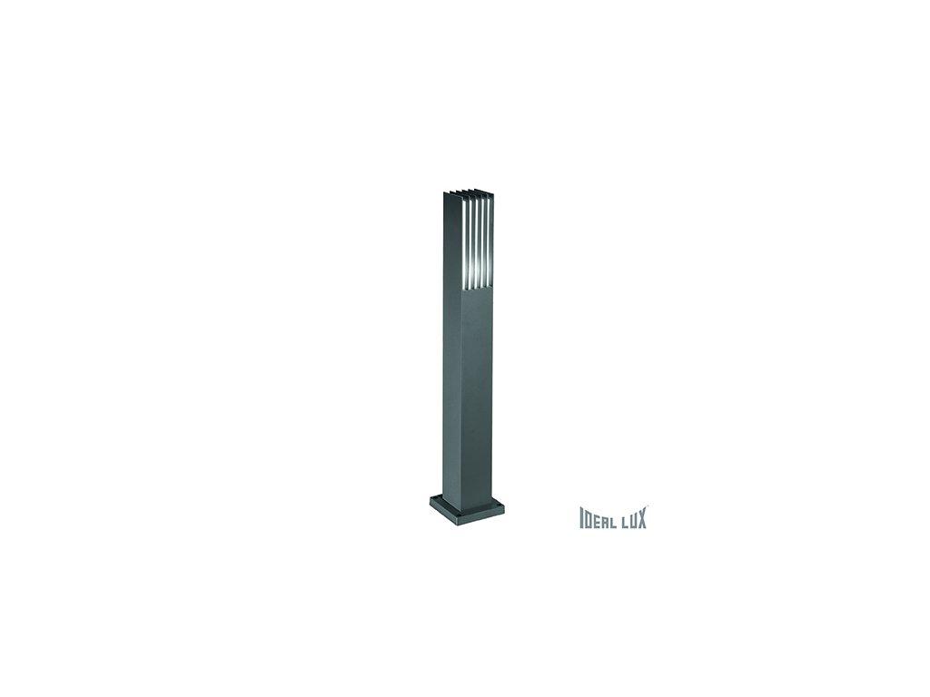 IDEAL LUX 092225 venkovní sloupek Marte PT1 Antracite 1x60W E27 IP44