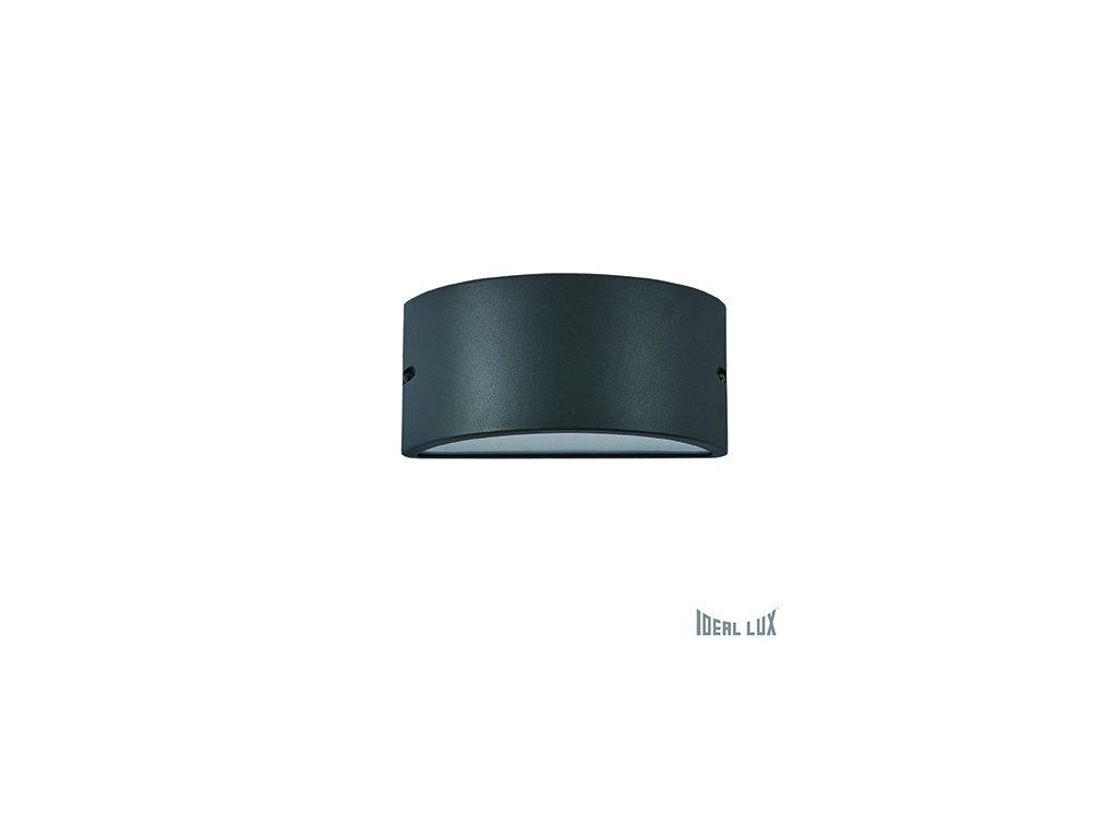 IDEAL LUX 092423 venkovní svítidlo Rex 2 AP1 Antracite 1x60W E27 IP44