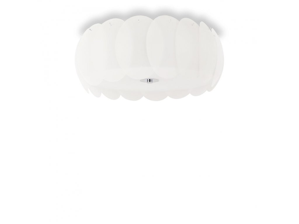 IDEAL LUX 094014 svítidlo Ovalino PL8 Bianco 8x60W E27