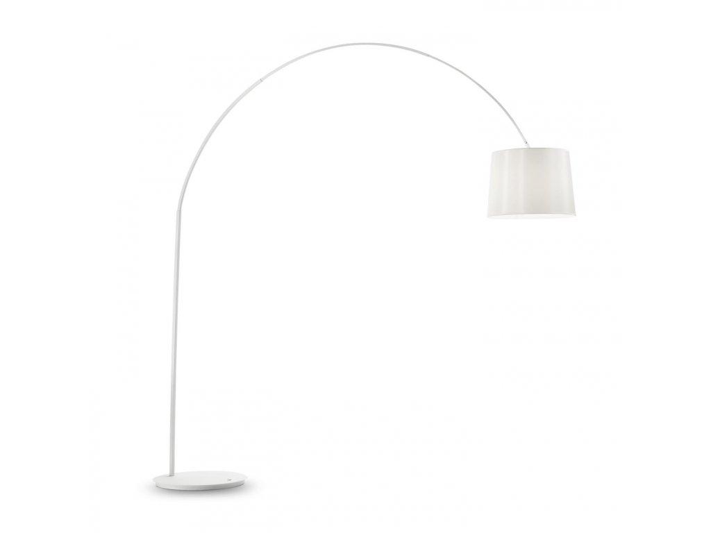 IDEAL LUX 095127 stojací lampa Dorsale PT1 Total Bianco 1x75W E27