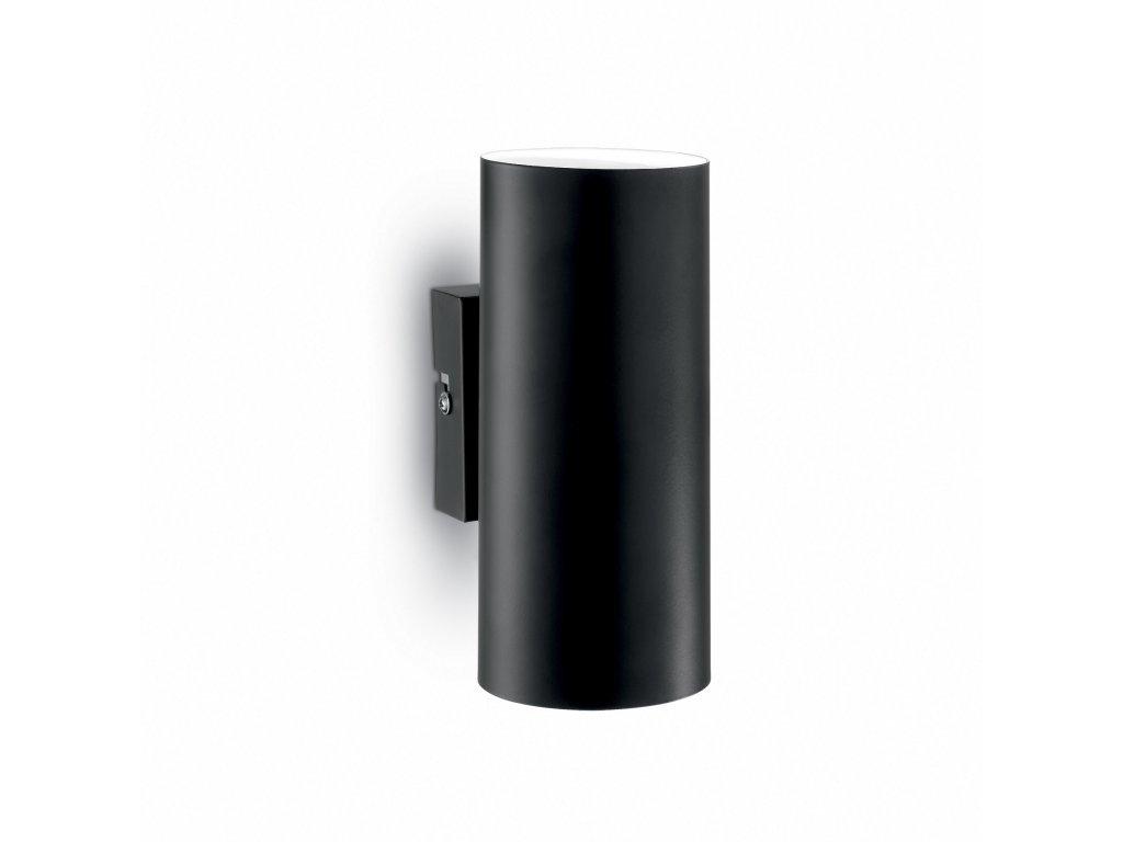 IDEAL LUX 095998 nástěnné svítidlo Hot AP2 Nero 2x28W GU10