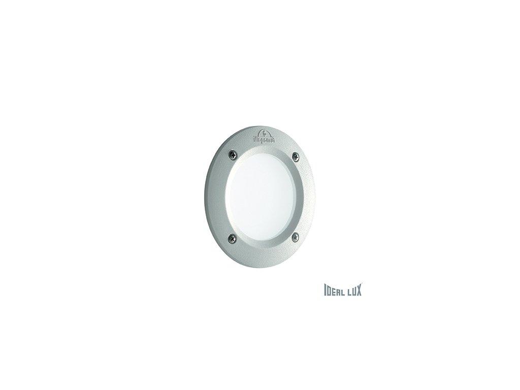 IDEAL LUX 096544 venkovní zápustné svítidlo Leti Round FI1 Bianco 1x3W GX53 IP66 3000K