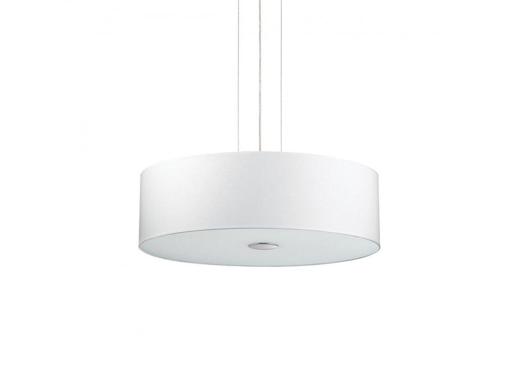 IDEAL LUX 103242 závěsné svítidlo Woody SP5 Bianco 5x60W E27