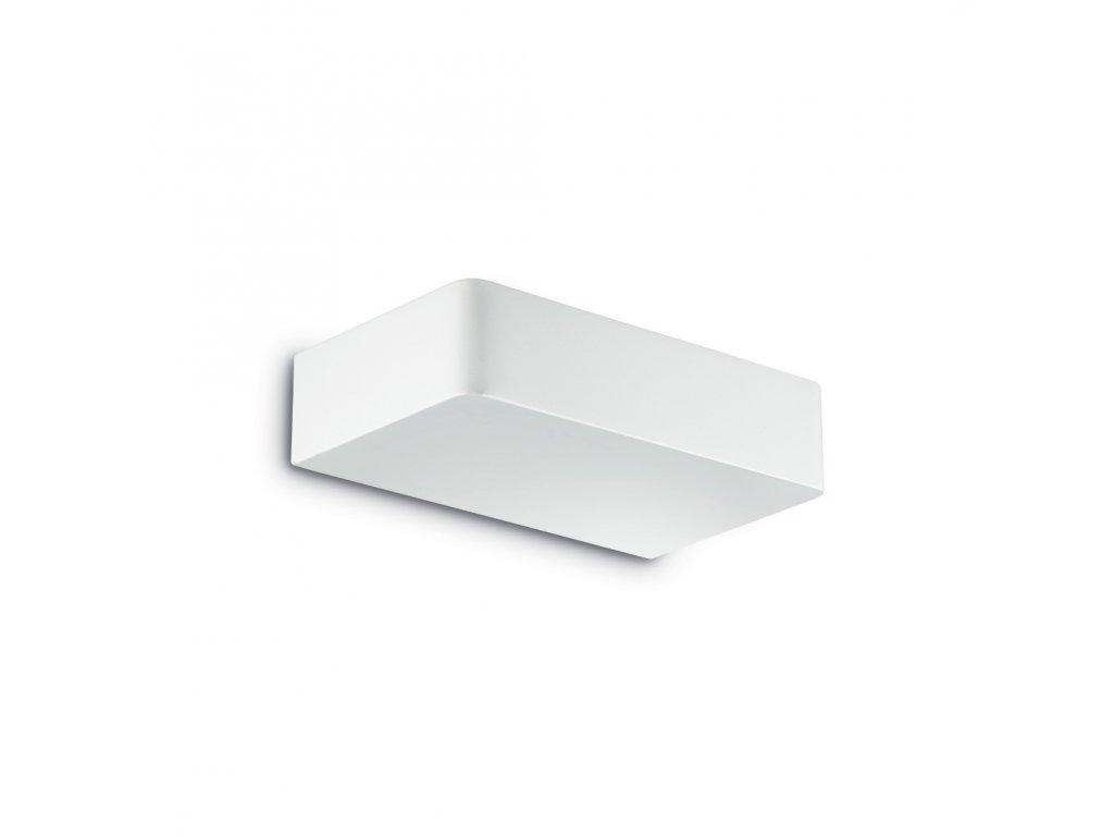 IDEAL LUX 104355 nástěnné svítidlo Brick AP2 Bianco 2x40W G9