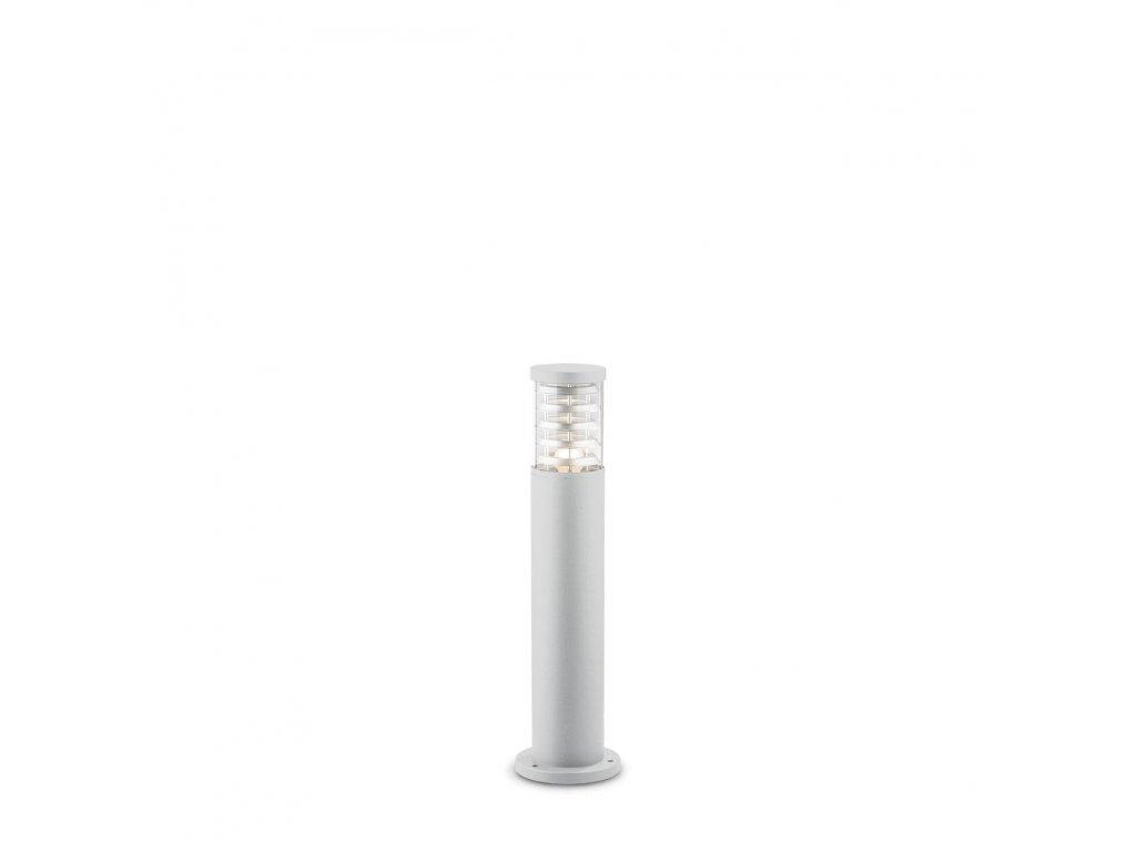 IDEAL LUX 109145 venkovní sloupek Tronco PT1 Small Bianco 1x60W E27 IP44