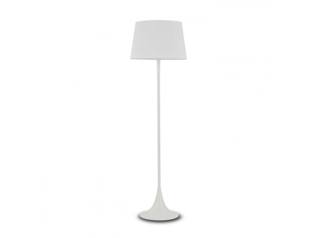 IDEAL LUX 110233 stojací lampa London PT1 Bianco 1x100W E27