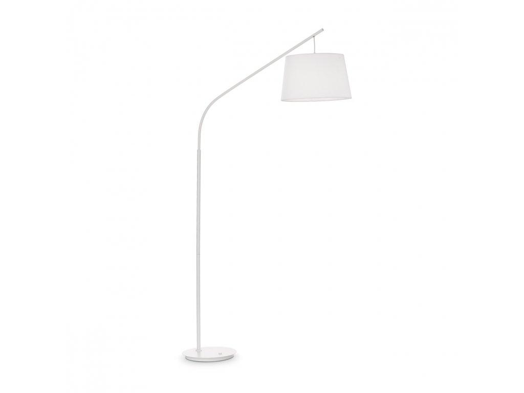 IDEAL LUX 110356 stojací lampa Daddy PT1 Bianco 1x60W E27