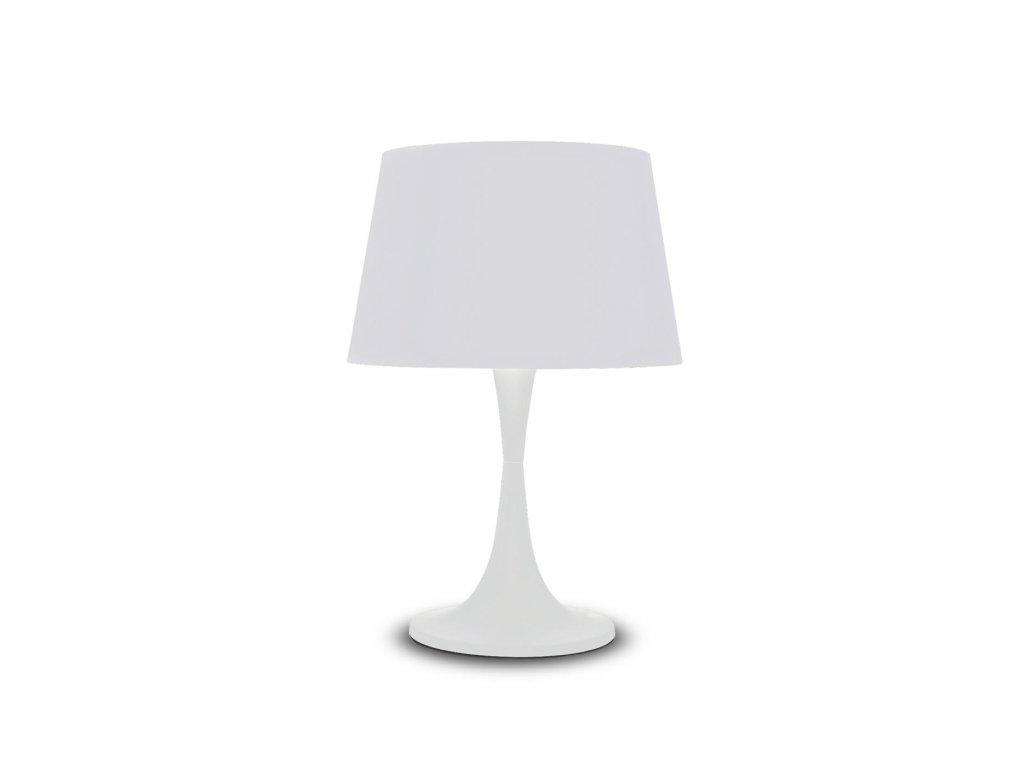 IDEAL LUX 110448 stolní lampa London TL1 Big Bianco 1x60W E27