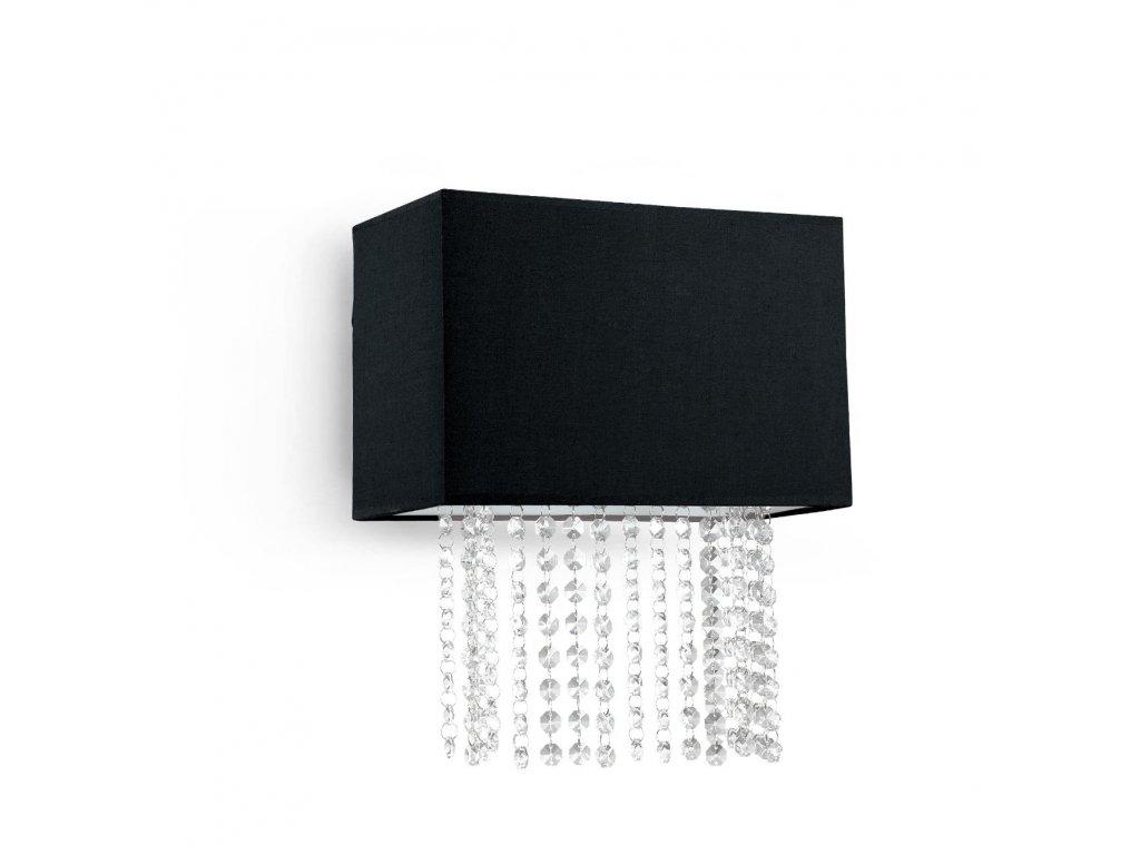 IDEAL LUX 113715 nástěnné svítidlo Phoenix AP2 Nero 2x40W E14