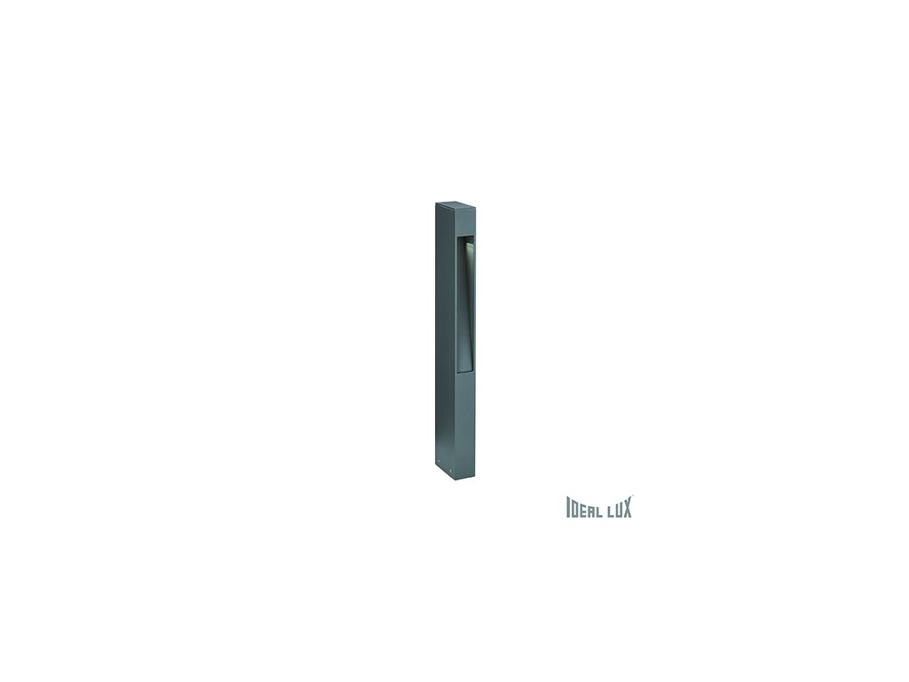 IDEAL LUX 114347 venkovní sloupek Mercurio PT1 Antracite 1x40W G9 IP44