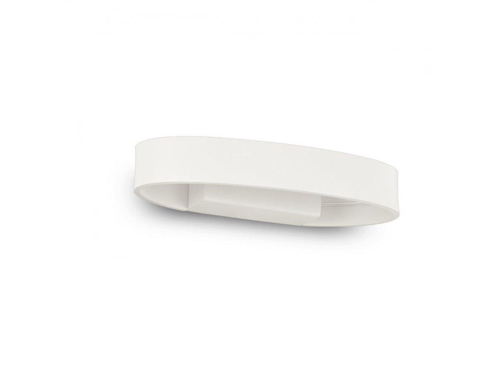 IDEAL LUX 115153 nástěnné LED svítidlo Zed AP1 Oval Bianco 1x5W 3000K