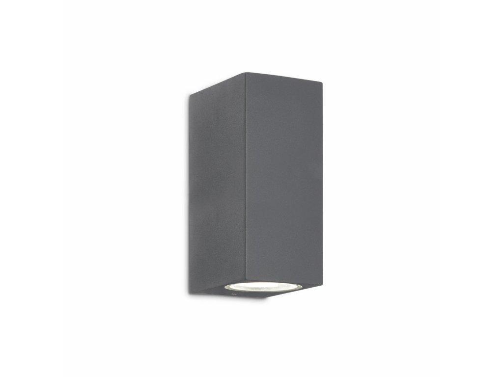 IDEAL LUX 115337 venkovní svítidlo Up AP2 Antracite 2x40W G9 IP44