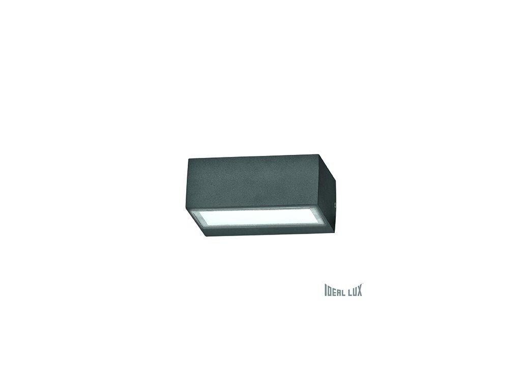 IDEAL LUX 115368 venkovní svítidlo Twin AP1 Antracite 1x28W G9 IP44