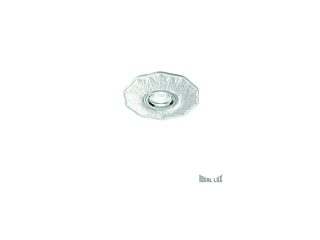 IDEAL LUX 115597 vestavné svítidlo Polka FI1 Bianco 1x50W GU10