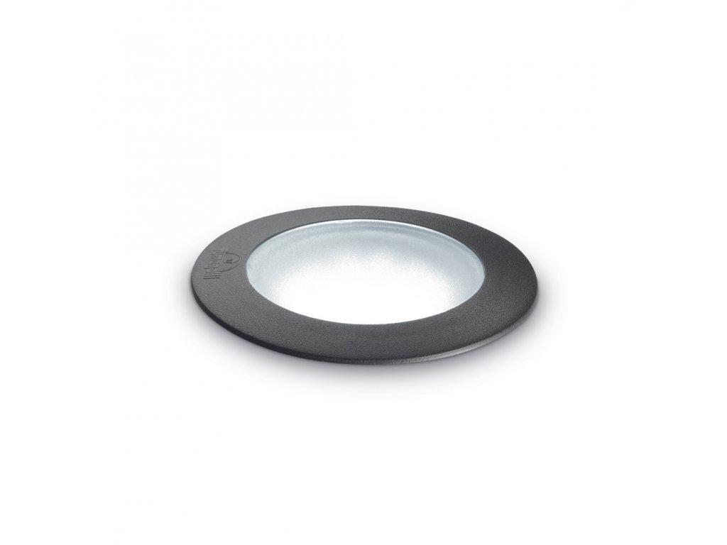 IDEAL LUX 120324 zemní zátěžové svítidlo Ceci Round FI1 Big 1x10W GX53 IP67 3000K