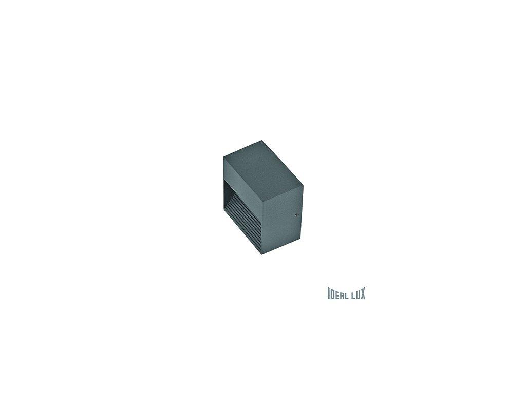 IDEAL LUX 122045 venkovní svítidlo Down AP1 Antracite 1x28W G9