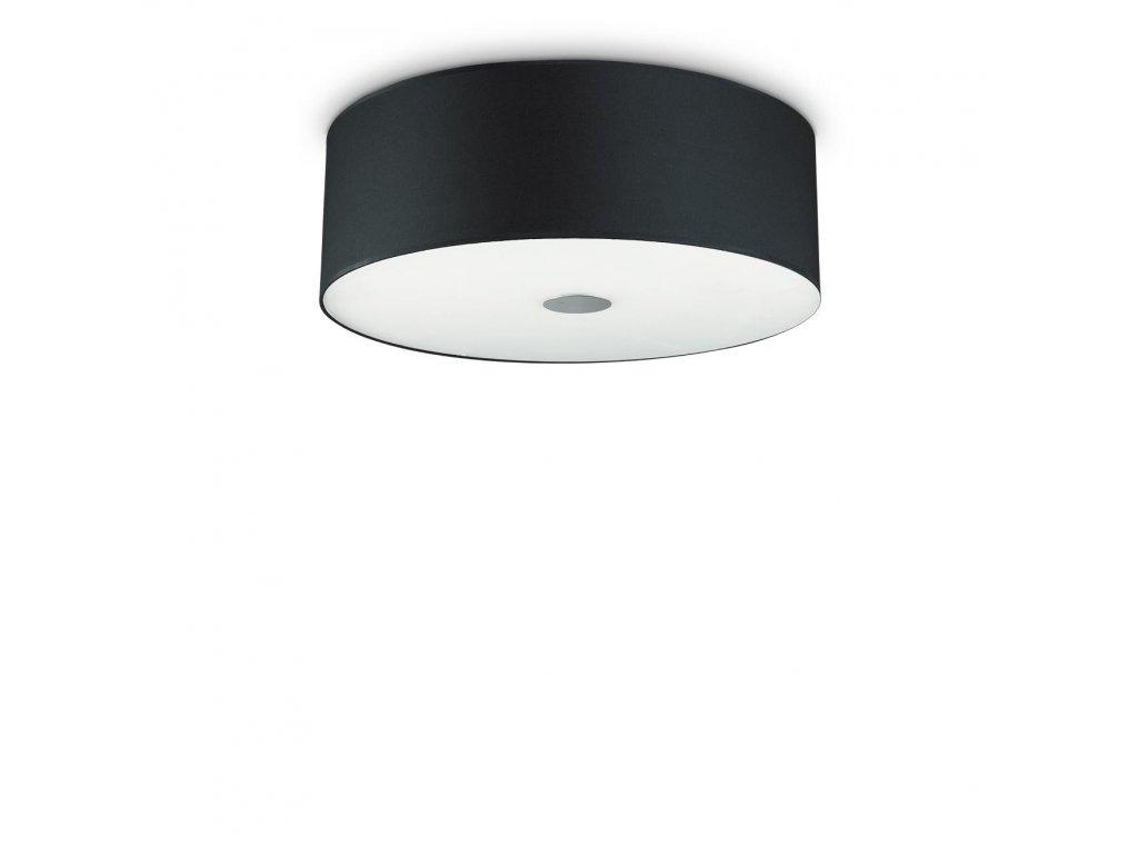 IDEAL LUX 122212 svítidlo Woody PL5 Nero 5x60W E27