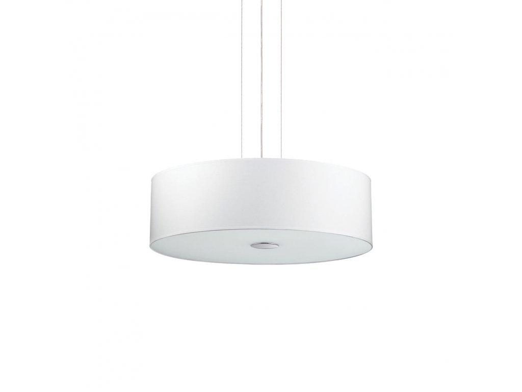 IDEAL LUX 122236 závěsné svítidlo Woody SP4 Bianco 4x60W E27
