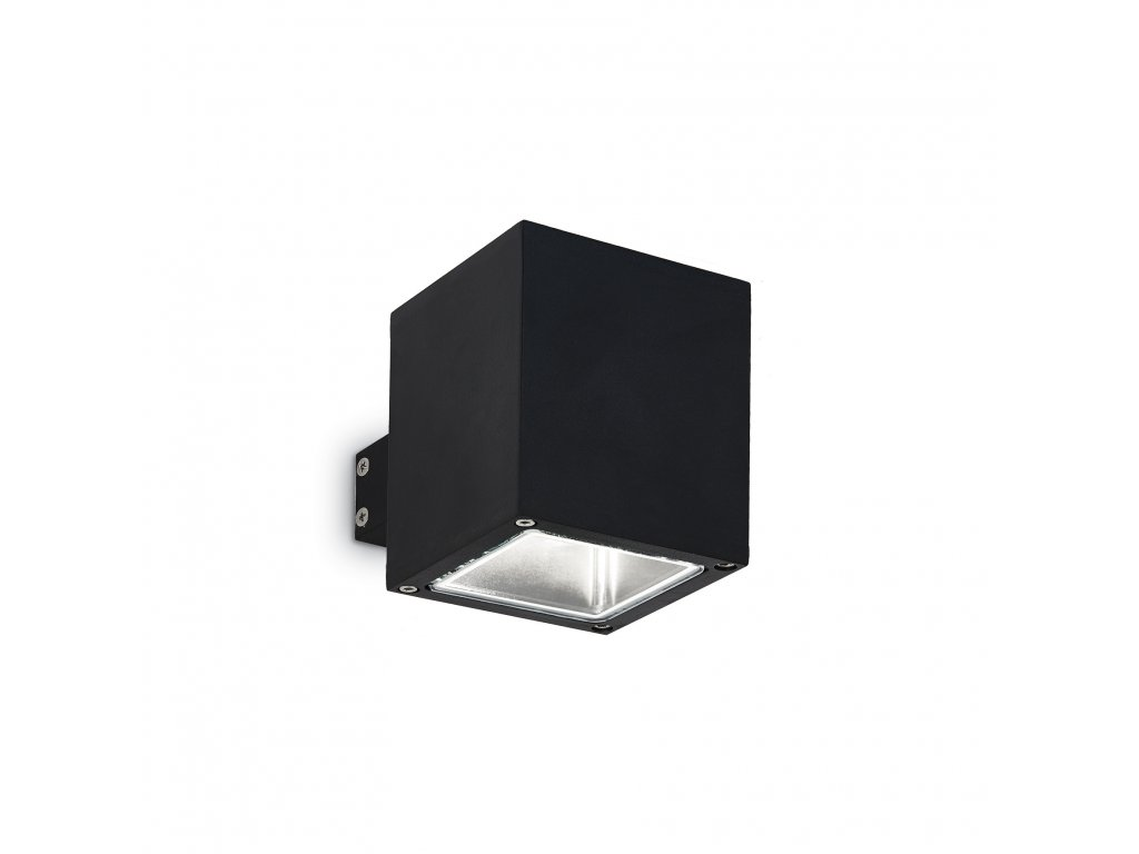 IDEAL LUX 123080 venkovní svítidlo Snif AP1 Square Nero 1x40W G9 IP44
