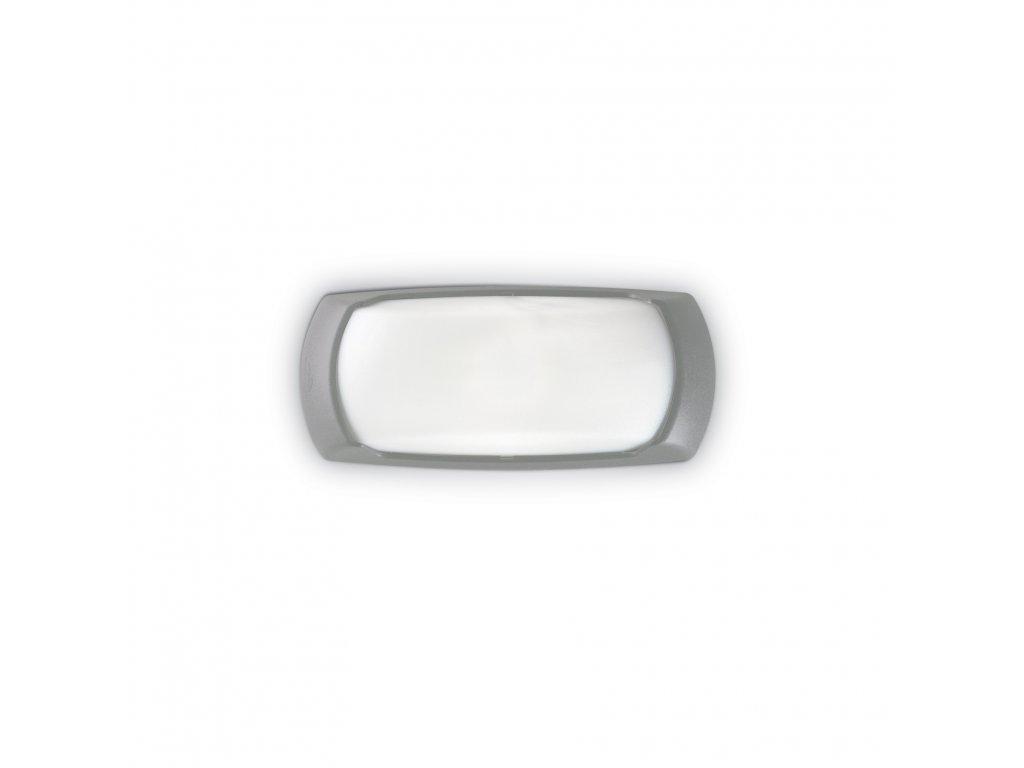 IDEAL LUX 123769 venkovní svítidlo Francy 2 AP1 Grigio 1x23W E27 IP66