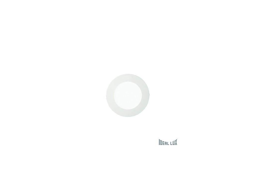 IDEAL LUX 123974 vestavné LED svítidlo Groove FI1 10W Round 1x10W 3000K
