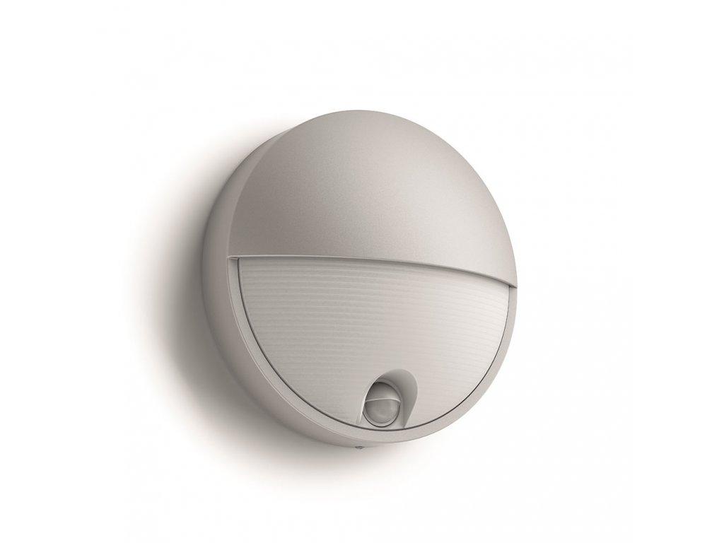 PHILIPS 16456/87/16 venkovní LED svítidlo Capricorn s čidlem 1x6W IP44 2700K