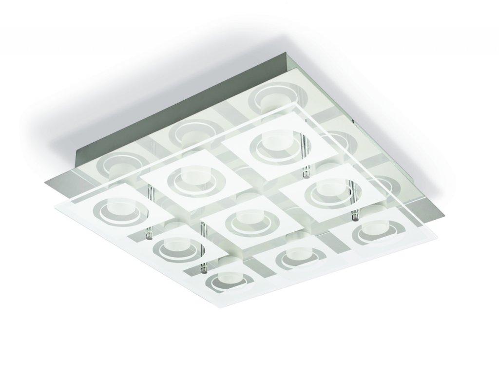 PHILIPS 39517/11/P1 stropní LED svítidlo Polygon 9x4,8W 2700K