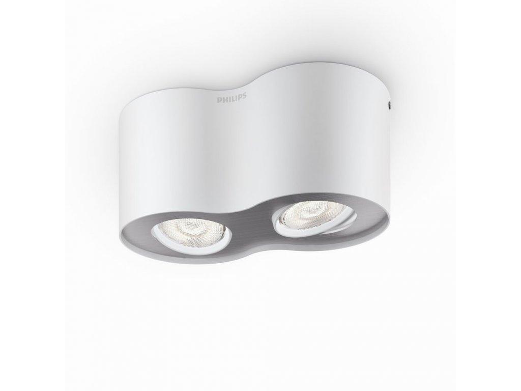PHILIPS 53302/31/16 bodové stropní LED svítidlo Phase 2x4,5W 2700K