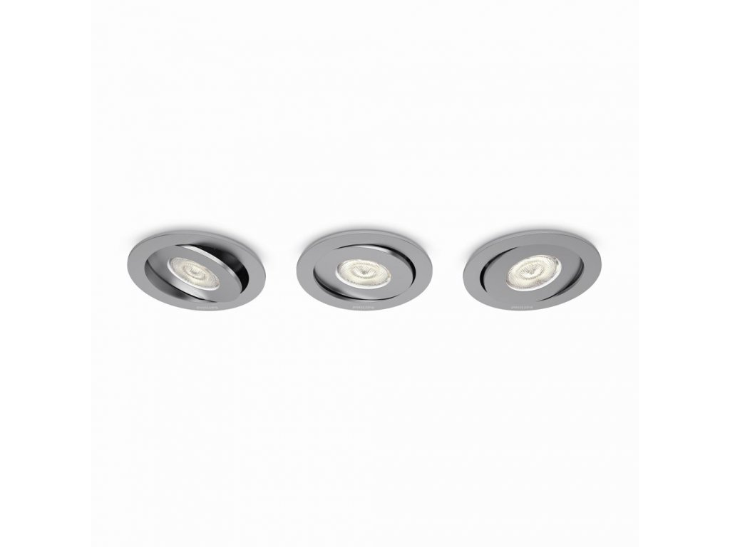 PHILIPS 59183/48/16 sada 3ks LED bodovek Asterope 3x4,5W 2700K