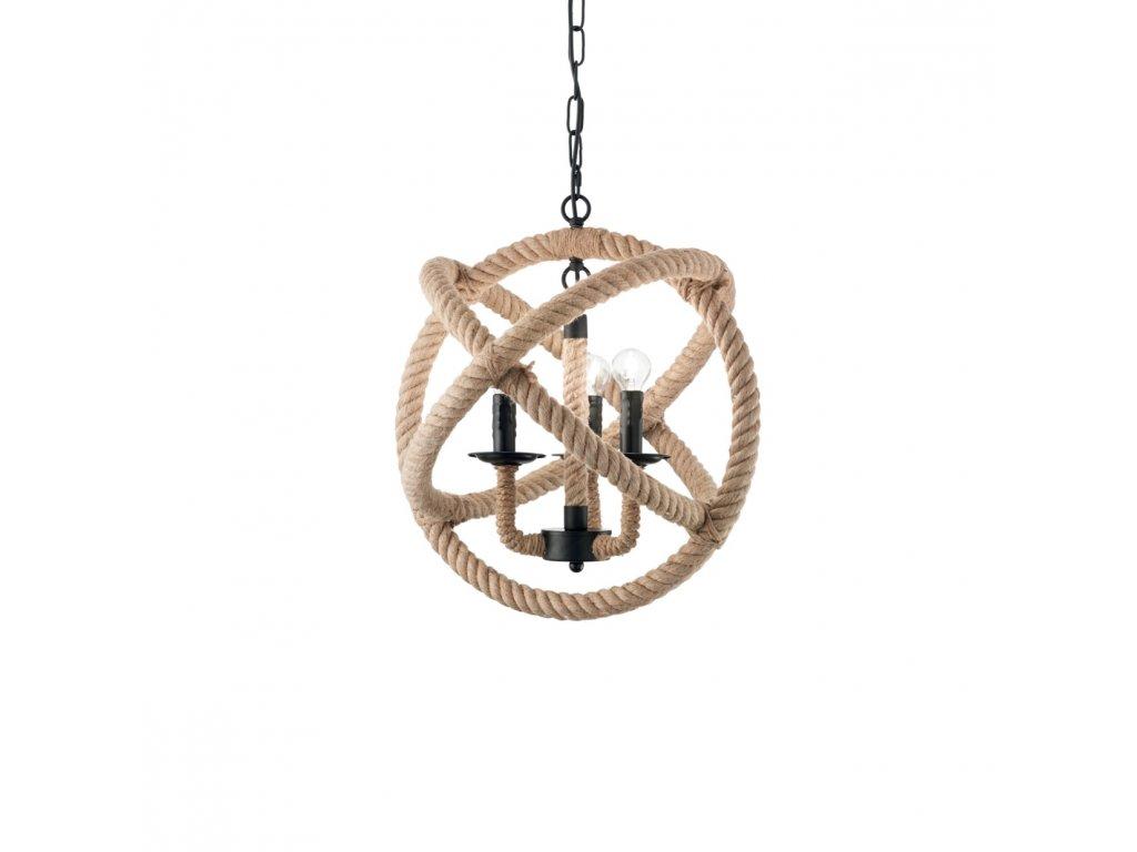IDEAL LUX 130903 závěsný lustr Corda SP3 3x40W E14