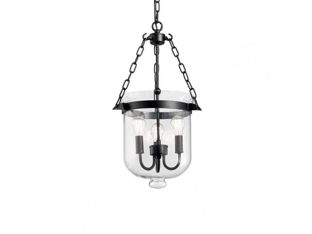 IDEAL LUX 134208 závěsný lustr Entry SP3 1x60W E14