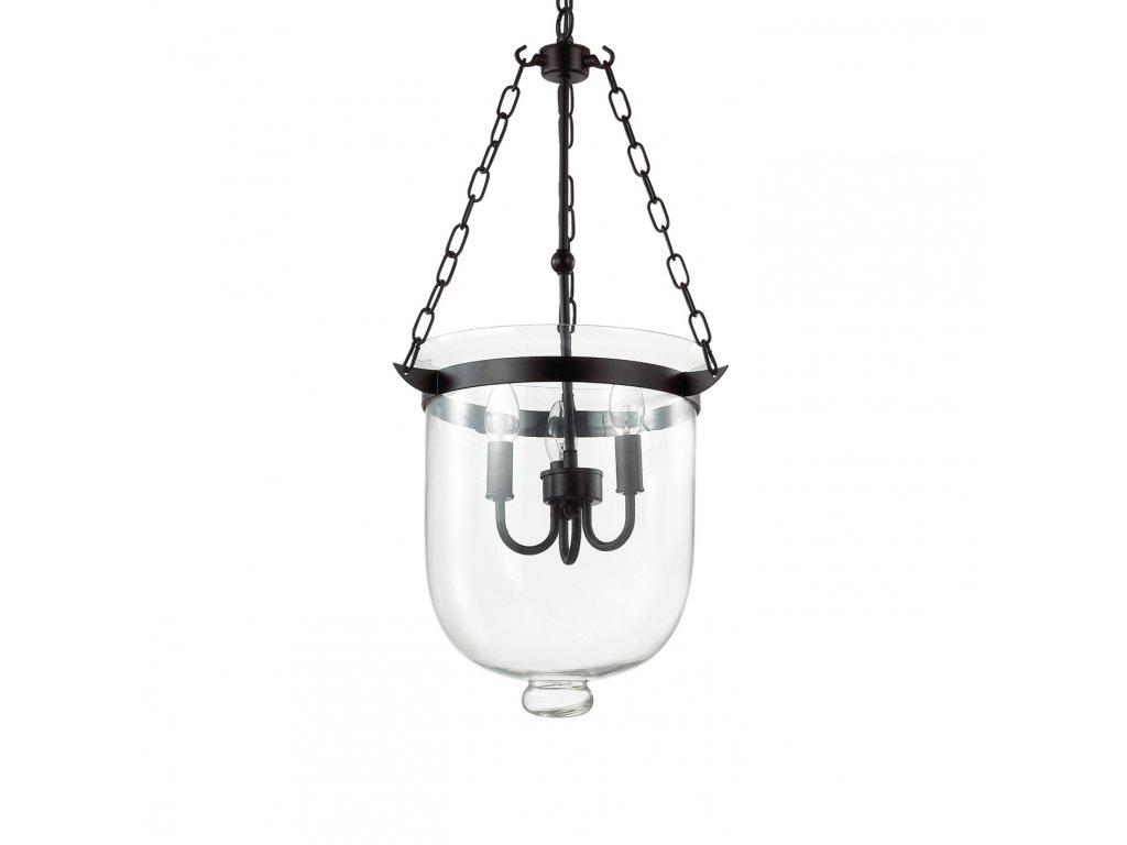 IDEAL LUX 134215 závěsný lustr Entry SP3 3x40W E14