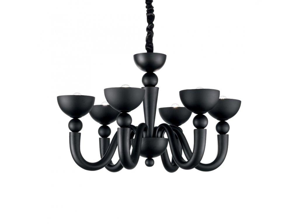 IDEAL LUX 140339 závěsný lustr Bon Bon SP6 6x40W E14