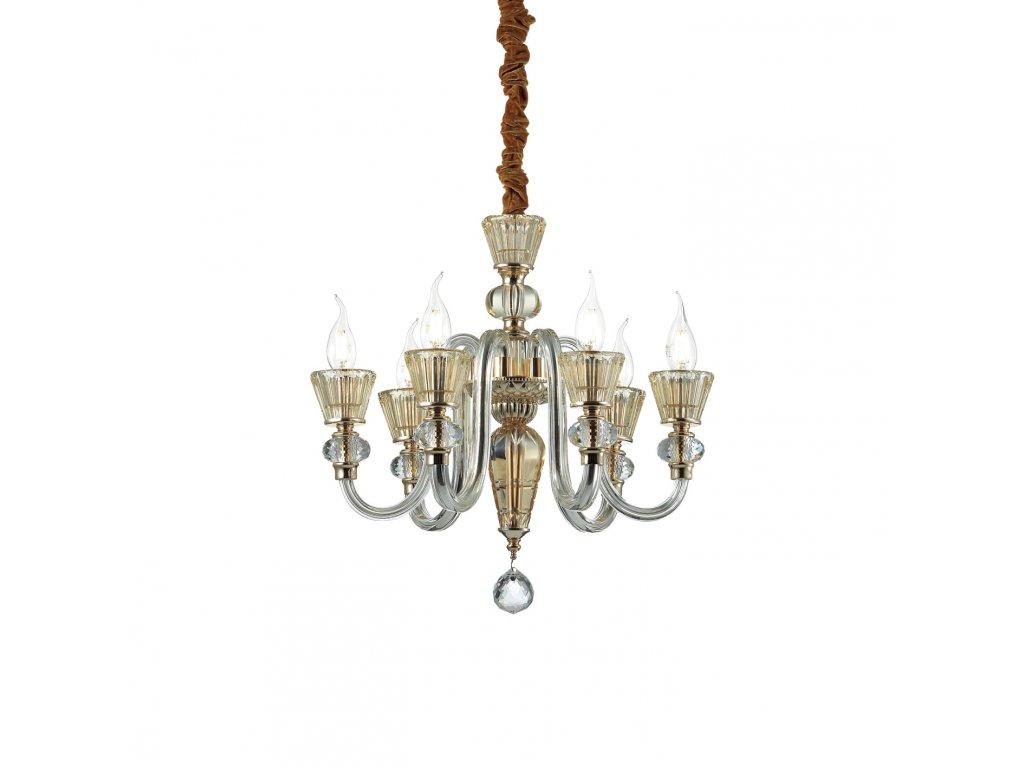 IDEAL LUX 140605 závěsný lustr Strauss SP6 6x40W E14