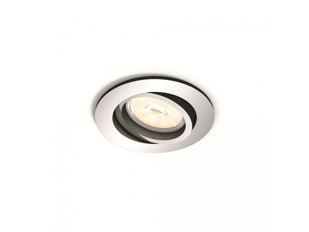 PHILIPS 50391/11/PN bodové podhledové LED svítidlo Donegal 1x5,5W GU10