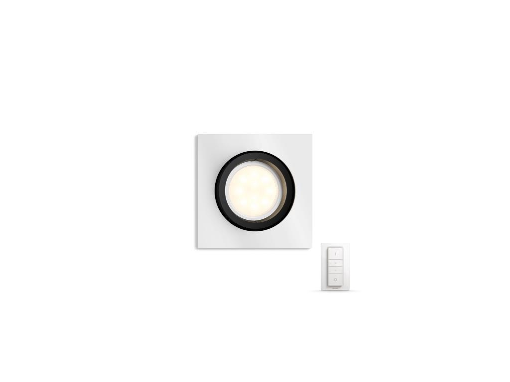 PHILIPS HUE 50421/48/P7 vestavné svítidlo Milliskin 1x5,5W GU10 2200-6500K