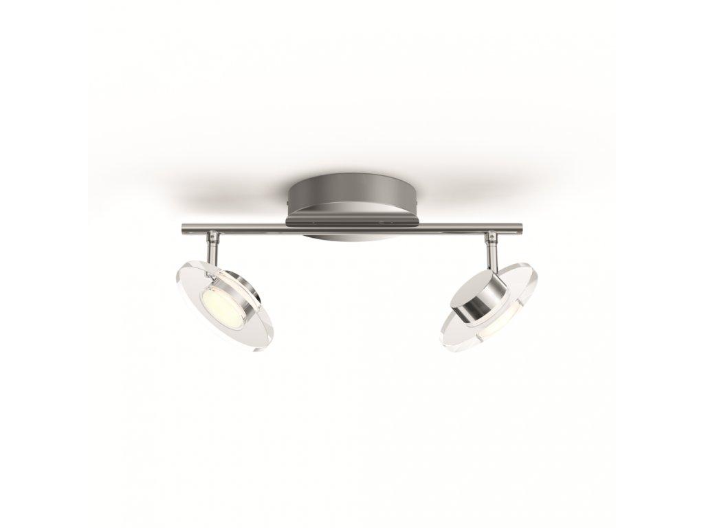 PHILIPS 50442/11/P0 bodové LED svítidlo Glissette 2x3,5W 2200-2700K