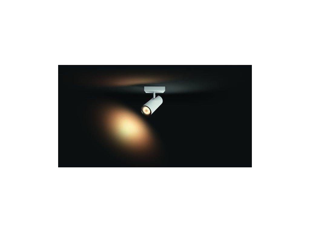 PHILIPS HUE 50461/31/P8 bodové LED svítidlo Buckram 1x3,5W 2200-6500K