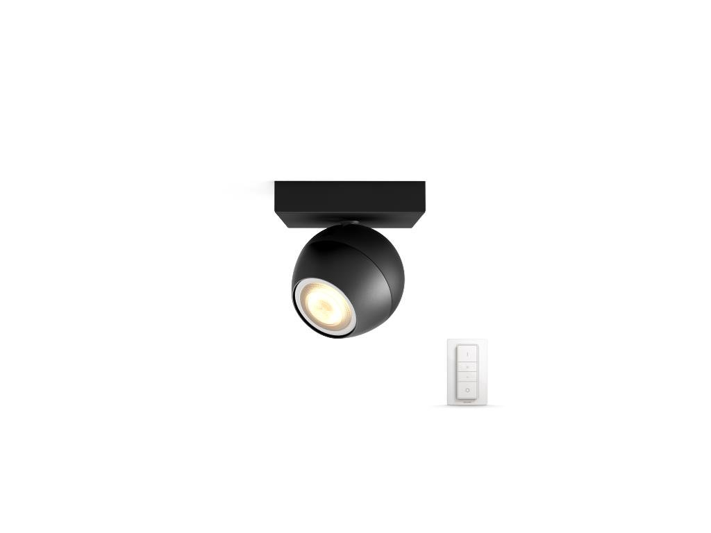PHILIPS HUE 50471/30/P7 bodové LED svítidlo Buckram 1x3,5W 2200-6500K